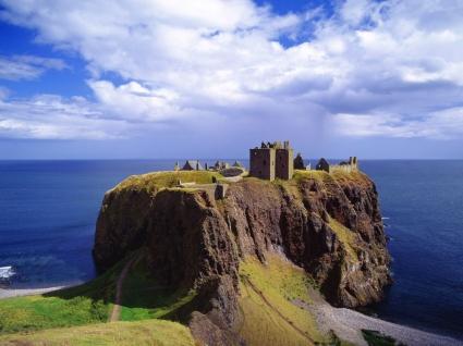 Dunnottar Castle Wallpaper Scotland World