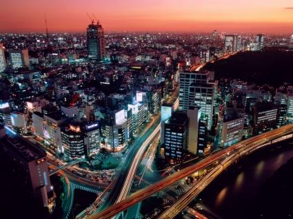 Dusk Wallpaper Japan World