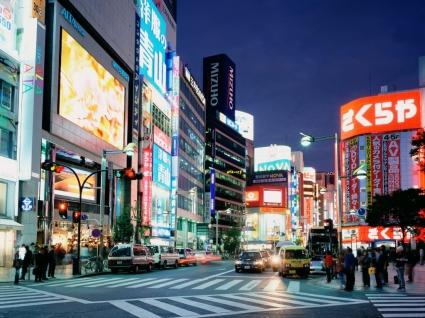 East Shinjuku Wallpaper Japan World