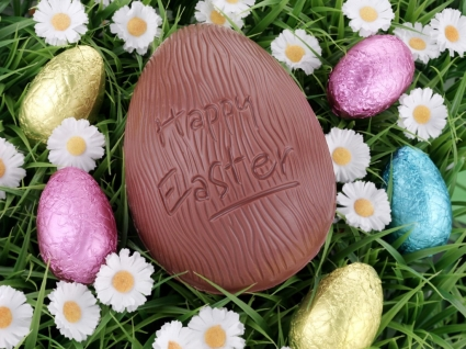 Easter Chocolate Egg Wallpaper Easter Holidays