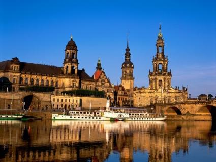 Elbe River Wallpaper Germany World