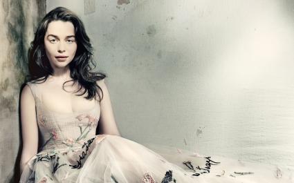 Emilia Clarke British Vogue
