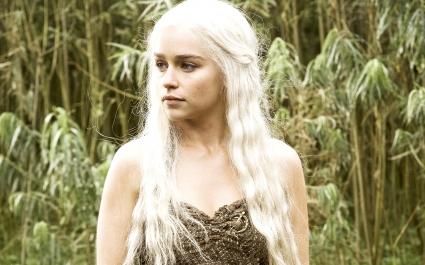 Emilia Clarke in HBO Game Of Thrones