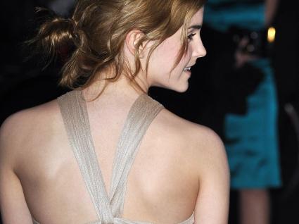 Emma Watson Back