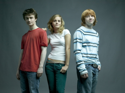 Emma Watson Daniel Radcliffe Harry Potter Cast