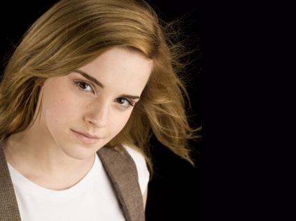 Emma Watson in Black