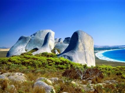 Eroded Granite Wallpaper Australia World