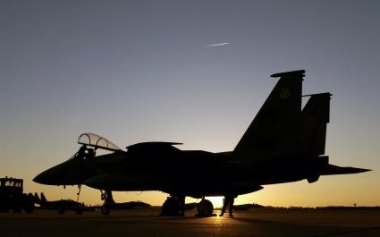 F 15 Eagle at Air Force Base