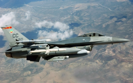 F 16C Fighting Falcon Cannon Air Force Base