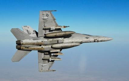 FA 18F Super Hornet Fighter