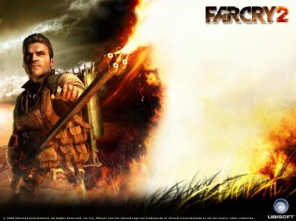 Far Cry 2 flamethrower Wallpaper Far Cry 2 Games