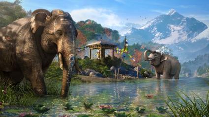 Far Cry 4 Elephants