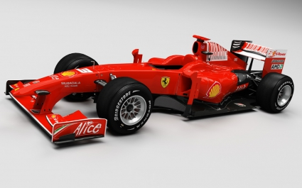 Ferrari F1 Race Car