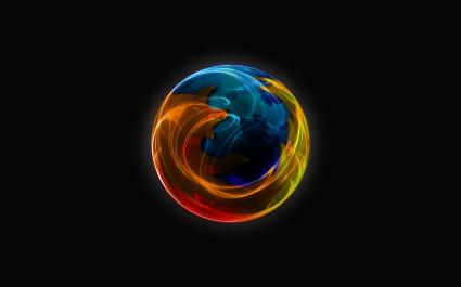 Firefox Dark Widescreen