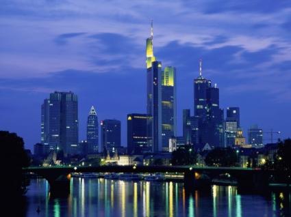 Frankfurt Wallpaper Germany World