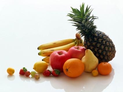 Fresh fruits Wallpaper Fruits Nature