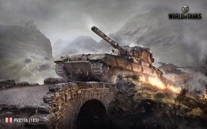 FV215b 183 World of Tanks