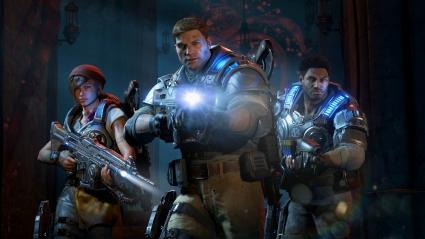 Gears of War 4 JD Fenix Kait Diaz Delmont Walker