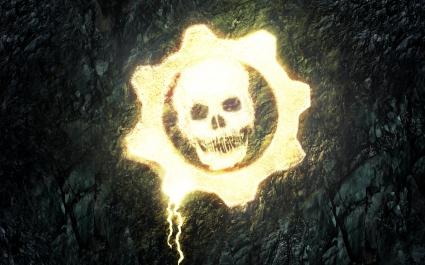 Gears of War Skull