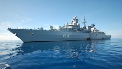 German Navy Battleship