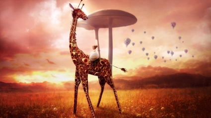 Giraffe Dream