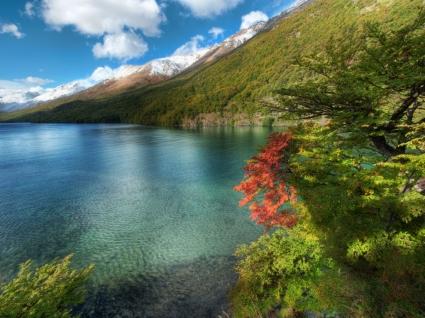 Glacier Lake Wallpaper Landscape Nature