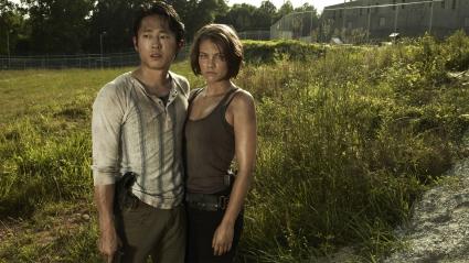 Glenn Maggie Walking Dead