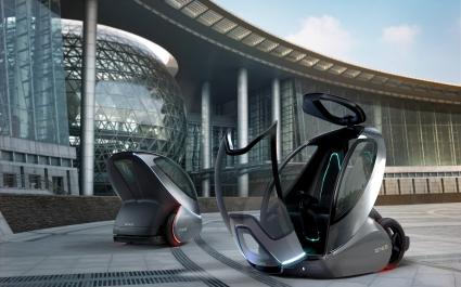 GM EN V Concept Future Car