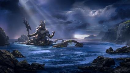 God of War Ascension Poseidon