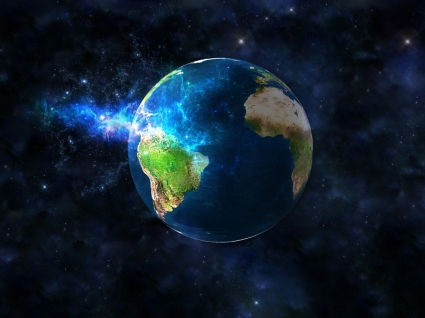 God s Blow Wallpaper Space Nature