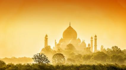 Golden Taj Mahal