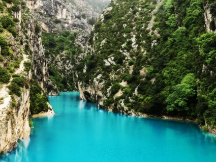 Gorges du Verdon Wallpaper Landscape Nature