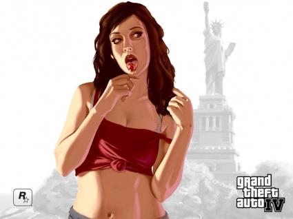 GTA 4 Girl Wallpaper GTA IV Games