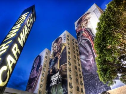 GTA 4 street ad Wallpaper GTA IV Games