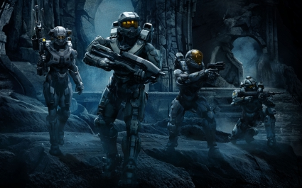 Halo 5 Guardians Team Chief
