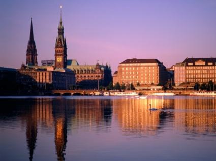 Hamburg Wallpaper Germany World