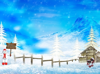 Happy Hollidays Wallpaper Christmas Holidays