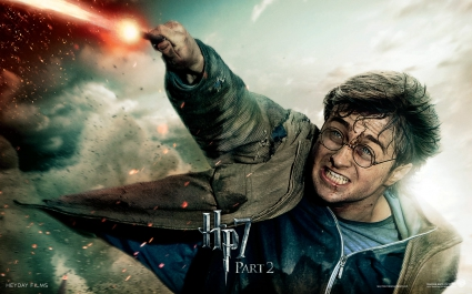 Harry Potter in Deathly Hallows Part 2