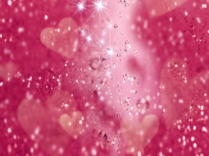 Hearts and Diamonds Wallpaper Abstract Other