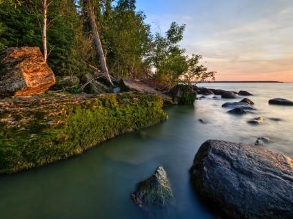 Hecla Island Wallpaper Landscape Nature
