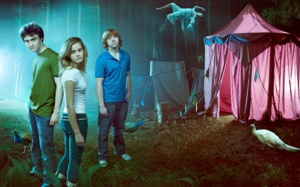 Hermione Granger and Harry Potter Crew HD Wide