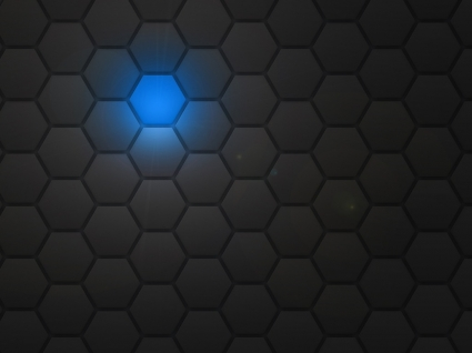 Hexagon Wallpaper Abstract 3D