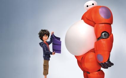 Hiro Baymax in Big Hero 6