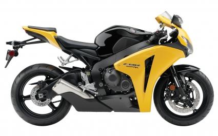 Honda CBR 1000RR 2009 Yellow