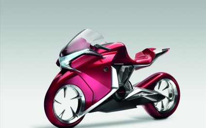 Honda V4 Concept Widescreen Bike
