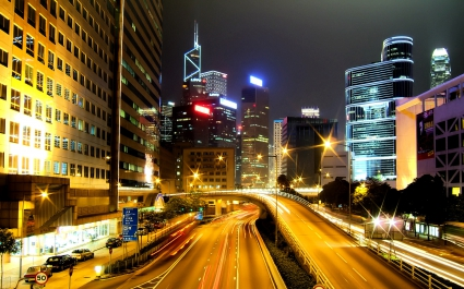 Hong Kong City Nights HD