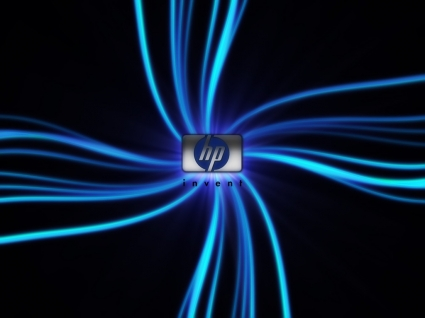 HP logo Wallpaper HP Computers