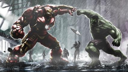 Hulkbuster Ironman Vs Hulk
