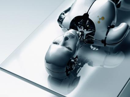 Human Robot Wallpaper 3D Characters 3D