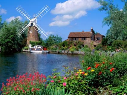 Hunsett Mill Norfolk England
